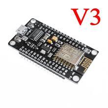 100 pièces nouveau module sans fil CH340 NodeMcu V3 Lua WIFI Internet des choses carte de développement basé ESP8266