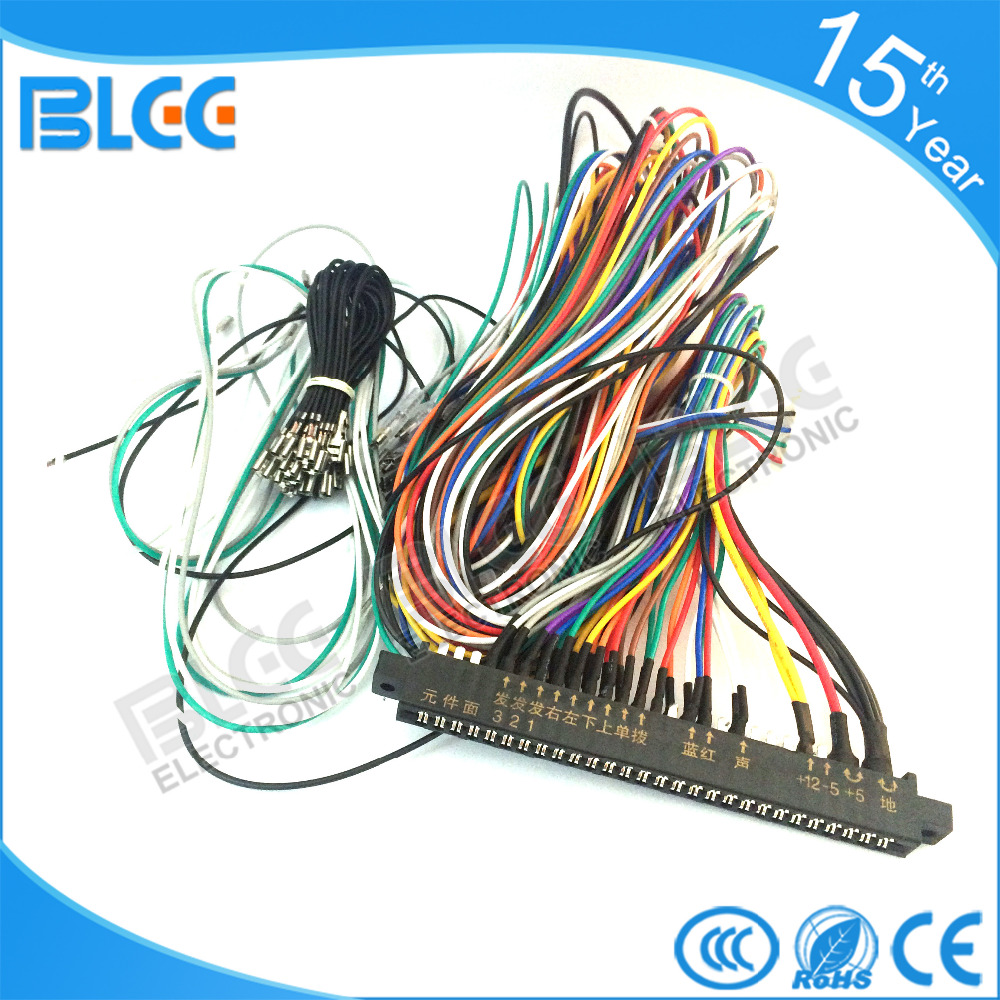 WRG-0704] Jamma Harness Wiring Diagram on
