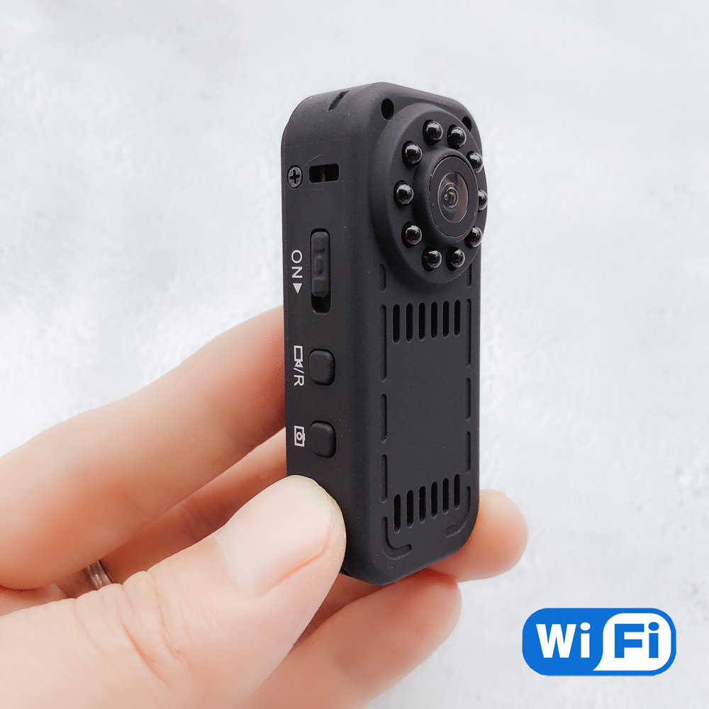 Mini HD 1080P Wireless Camcorder with 128GB Memory Capacity WiFi IP Camera Motion Audio Video Recording 940nm Invisible IR BVCAMMini HD 1080P Wireless Camcorder with 128GB Memory Capacity WiFi IP Camera Motion Audio Video Recording 940nm Invisible IR BVCAM