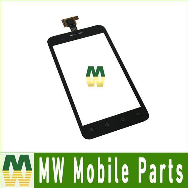 1PC/ Lot High Quality For ZTE V880E Touch Screen Touch Plane Digitizer Replacement Part Black Color 4.0Inch