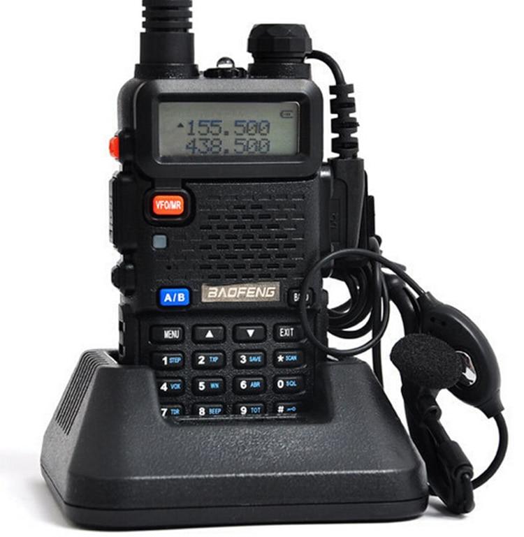 bilder für Uv-5r Vox Vhf Uhf Radio 5 watt 128ch Walkie Talkie 10 km Baofeng Uv5r Für Auto Cb Funksprechkommunikations Amateurfunk Hf-Transceiver Pofung