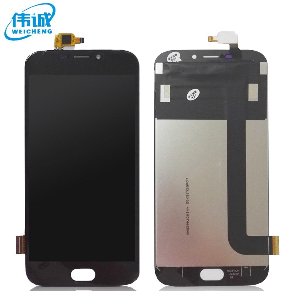 imágenes para 5.5 pulgadas para Doogee X9 Pro Pantalla LCD y Montaje de la Pantalla Táctil Pieza de Reparación Móvil Accesorios WEICHENG original + Herramientas