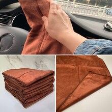 1pc serviette microfibre voiture Auto nettoyage séchage tissu absorbant doux voiture soin chiffon Duster détaillant lavage de voiture 35x75cm