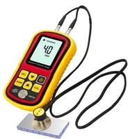 Digital LCD Ultrasonic Thickness Gauge Meter Metal Width Measuring Instrument 1.2~220mm (Steel) Sound Velocity Measurement