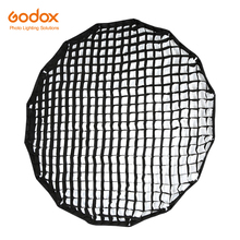 Godox przenośny P90L P90H 90cm siatka o strukturze plastra miodu 16 prętów głęboki paraboliczny Softbox