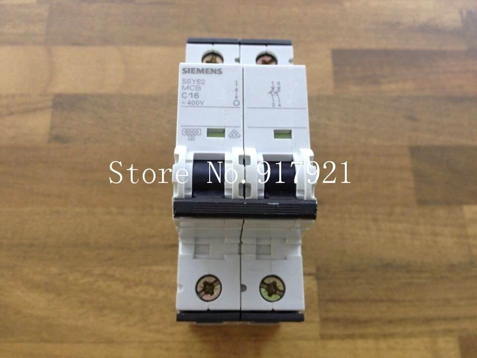 [ZOB] original 5SY62 MCB C16 2P16A black series genuine original air switch --5pcs/lot [zob] original 5sy62 mcb c16 2p16a black series genuine original air switch 5pcs lot