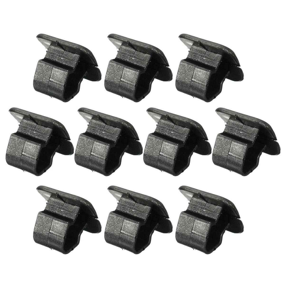 10 pçs capa de isolamento plástico retentor capô titular almofada clipe para vw 1h5863849a01c
