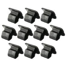 10pcs Hood Insulation Plastic Retainer Bonnet Holder Pad Clip For VW 1H5863849A01C