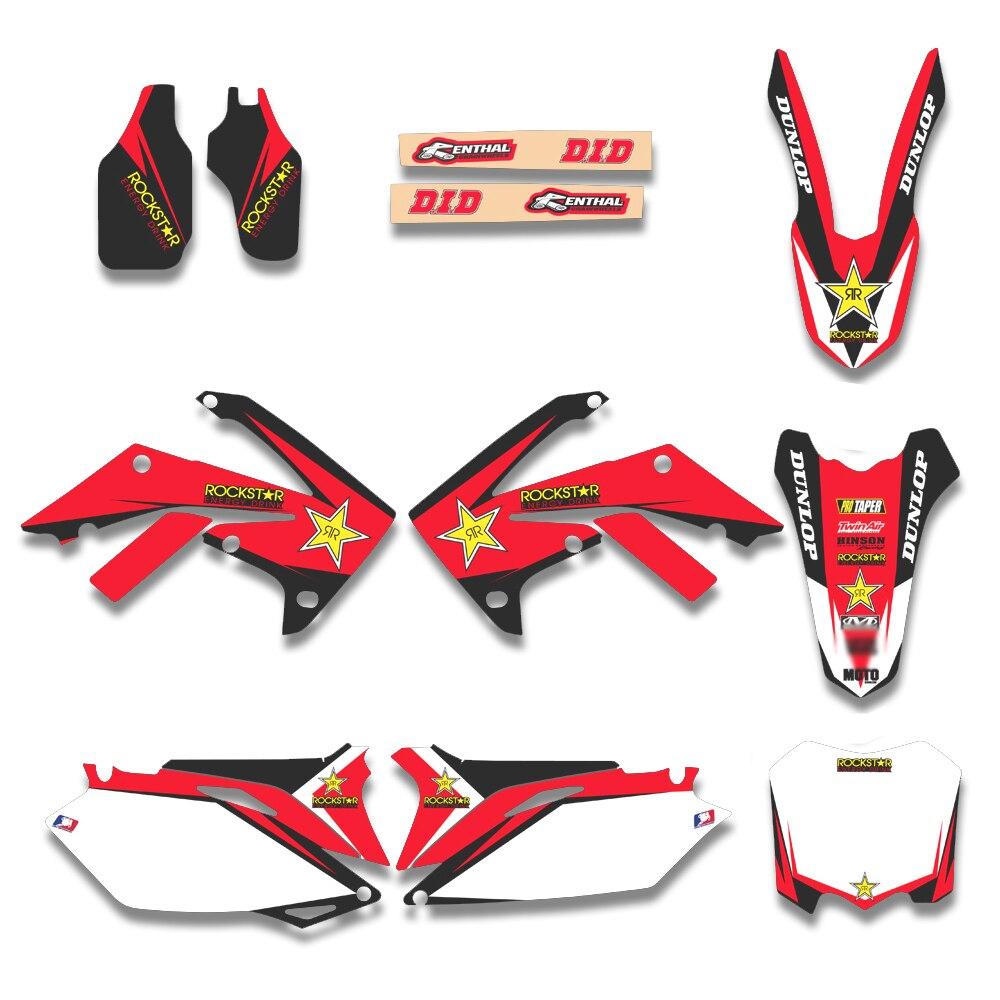 2012 crf450r graphics