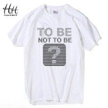 HanHent Funny T shirts Men Summer Fashion Climb To The Moon Printed Tshirt Casual Short Sleeve O-neck T-shirt Cotton Tops Tees