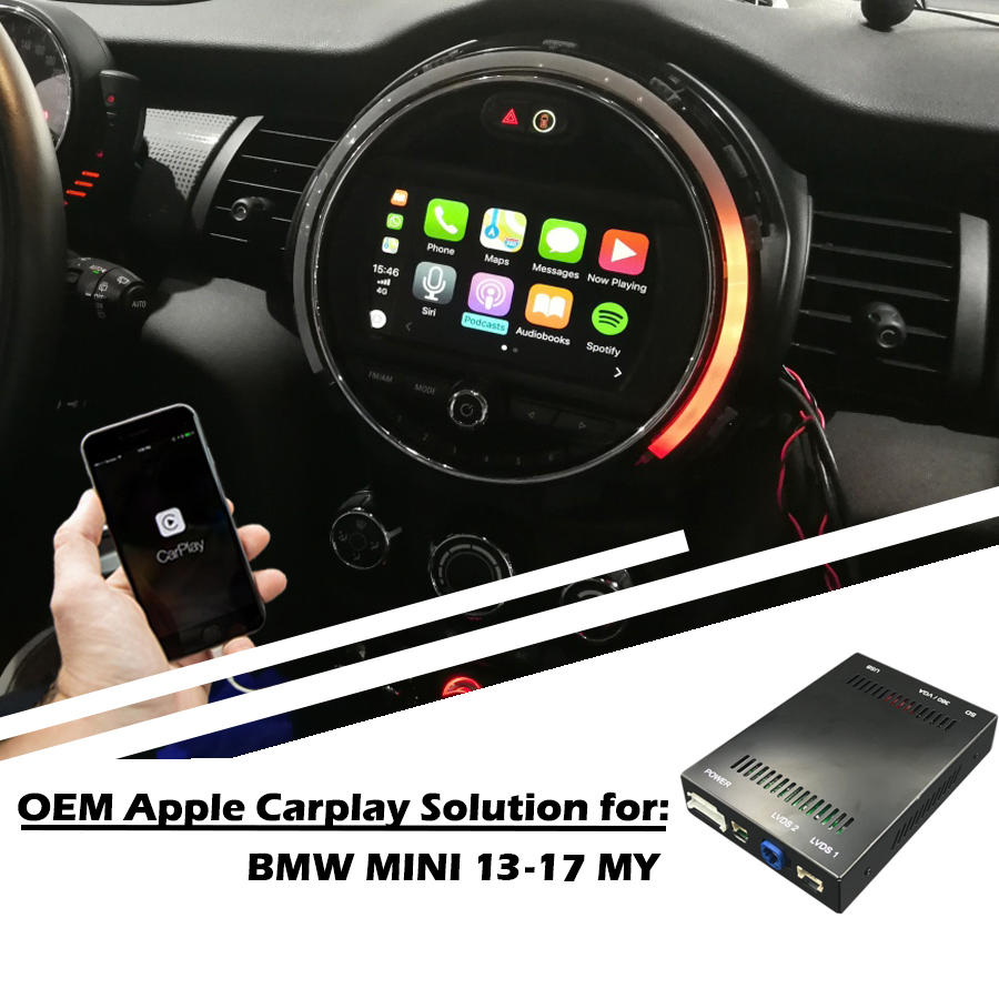 Zhoyito Aftermarket Mini Cooper Nbt Oem Le Carplay Box Retrofit Upgrade 2017 For Bmw Car Multimedia