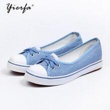 ฤดูใบไม้ผลิแสงรองเท้าผ้าใบรองเท้าสลิปเกาหลีนักเรียนน้ำชุดเท้าเหยียบรองเท้าแบน
