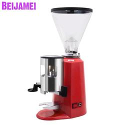 BEIJAMEI Low Temperature Electric Coffee Bean Grinders Commercial Coffee Powder Grinding Milling Machine