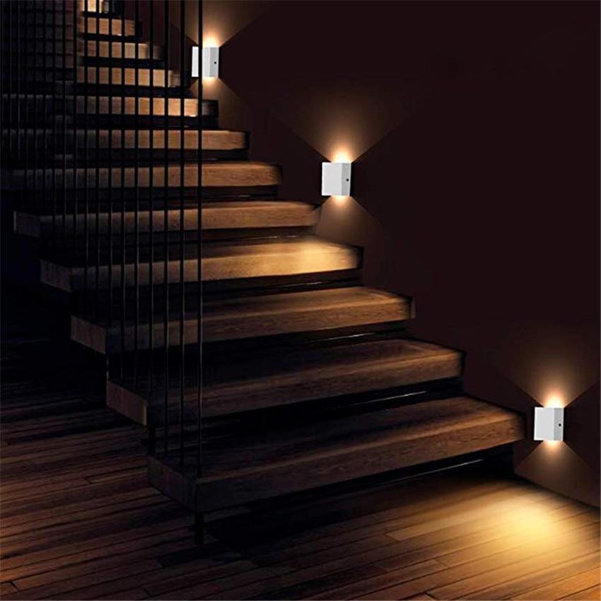 6W LED Wall Lamp Modern Bedroom Beside Reading Wall Light ...