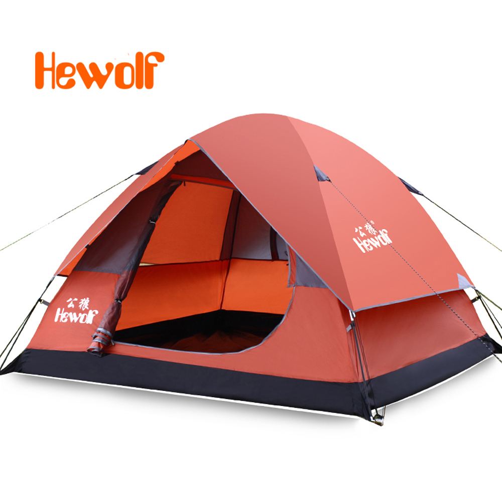 Waterproof Outdoor Camping Tent double Layer Waterproof Portable 3-4Persons Fishing Tent waterproof outdoor camping tent double layer waterproof portable 3 4persons fishing tent