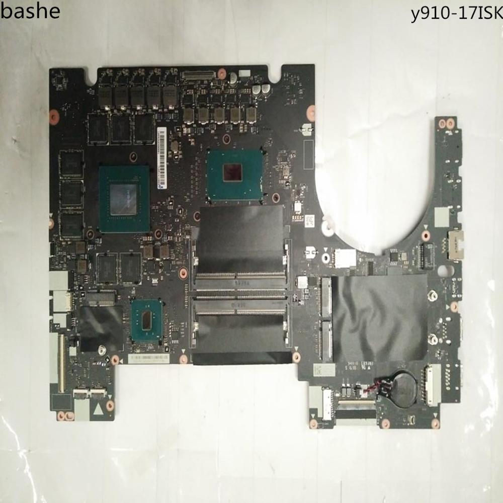 For Lenovo y910 17isk font b laptop b font motherboard i7 6700 8G comprehensive test FRU