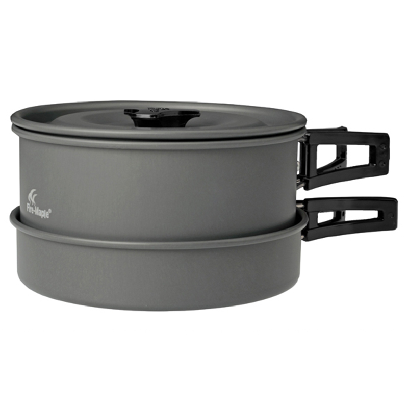 Feu érable FMC-201 extérieur couverts Portable pique-nique Camping ensemble cuisson ustensiles de cuisine 2-3 personnes Camping antiadhésif Pot ensemble