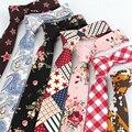 """Fábrica 20 Estilos 2 """"Dos Homens Clássicos Gravatas finas Flores Listras Paisley Imprimir Magro Noivo Trajes De Algodão Gravata gravata"""