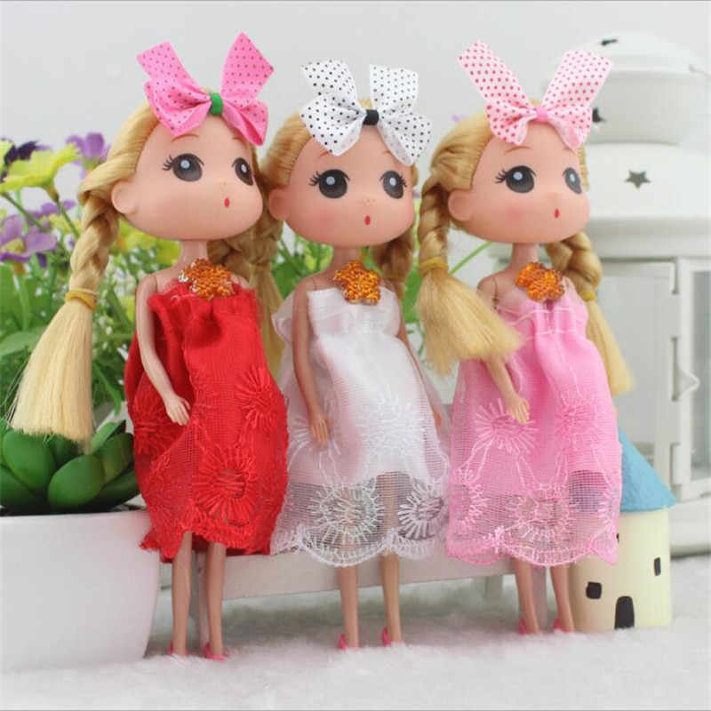 1PCS 17cm Cute Confused Dolls Children's Day Little Girls Toy Confusion Small Doll Cake Bake Dolls for girl Valentine day gift