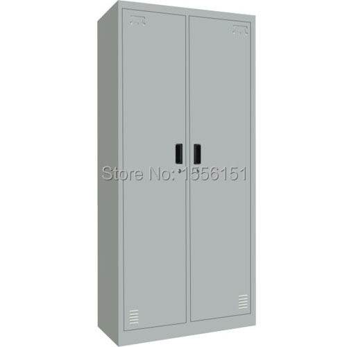 Fashion Style Office FurnitureTwo Door Metal Locker,storgae Cupboard,steel  Cabinet ,wardrobe