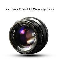 7artsians 35mm F1 2 APS C Manual Fixed Lens For E Mount Canon EOS M Mount