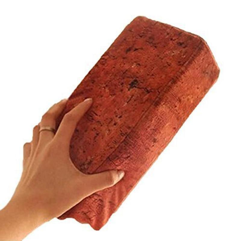 Hot Sale Sponge Lifelike Simulation Tile Red Brick Antistress Novelty Funny Gadgets Anti Stress Toys Eye-Hand Coordination