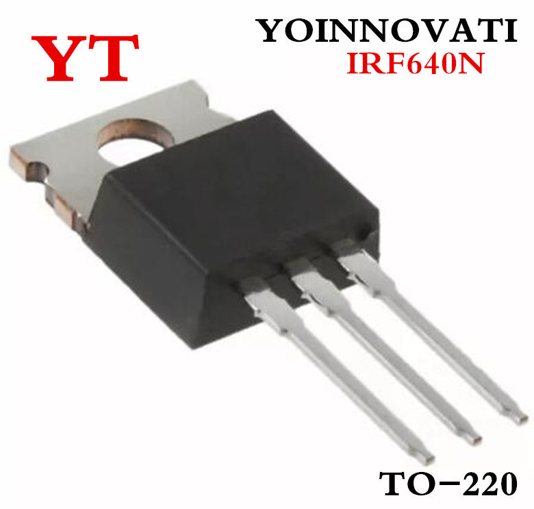 50pcs IRF640N IRF640 MOSFET N-CH 200V 18A TO-220  NEW HIGH QUALITY