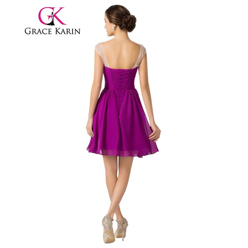 Gracia Karin Vestidos de Coctel Robe De Vestidos de Cóctel Con ...