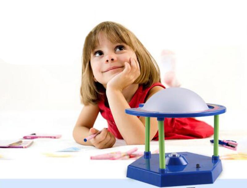 Free Ship 1xTeenage Children Kids Scientific Science Educational Models Experimental Toy Materials PLANETARIUM Experiment Toy