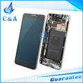 For Samsung Galaxy Note 3 LCD N9005 N9006 Display Screen with Touch with Frame Assembly Replacement 1 Piece Free Shipping