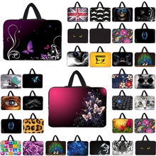 Wholesale New Laptop Sleeve Bag Carry Handle Cover Cases Pouch For 7 10 12 13 14 15 17 Computer Tablet PC + Hide Handle недорого