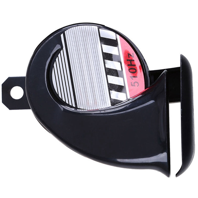 Mayitr Waterproof Compact Motorcycle Car ATV Snail Horn 12V 510Hz 110dB Loud Snail Speaker Sound Air Horn New