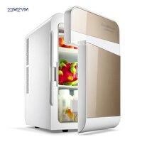 20L Electric Mini Refrigerator 12V Car Cooler And Warmer Portable Travel Car Fridge Machine Ultra Mute Refrigerator F L20SA 220V