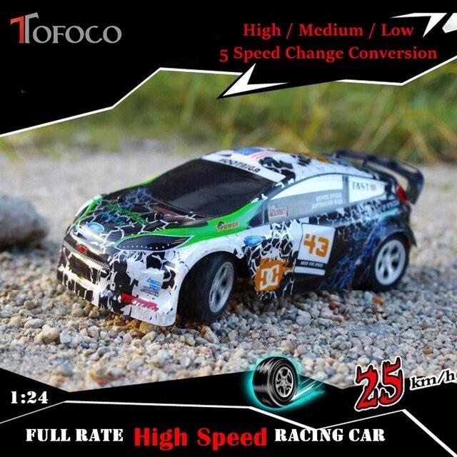 Tofoco New Plastic 1 24 A989 High Sd Remote Control Car 2 4g Electric