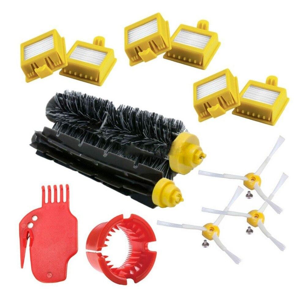Para irobot roomba series 700 kit de substituição 760 770 772 774 775 776 780 782 785 786 790-acessórios, filtros e escovas