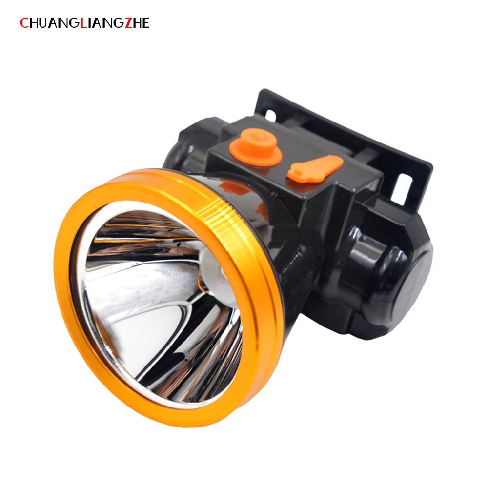 CHENGLIANGZHE Rechargeable Led Headlight Outdoor Lighting Torch Lamp Hunting Headlamp Waterproof Battery 18650 Flashlight Head