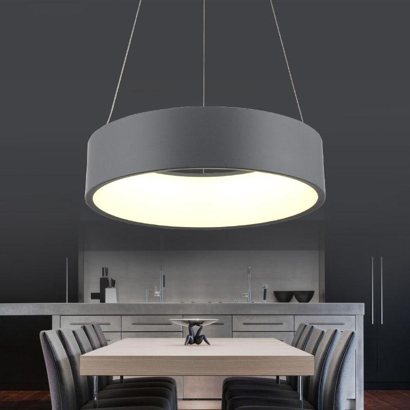 Minimalism agățat Modern Led Pandantiv Lumini pentru Sufragerie Bar - Iluminatul interior - Fotografie 5