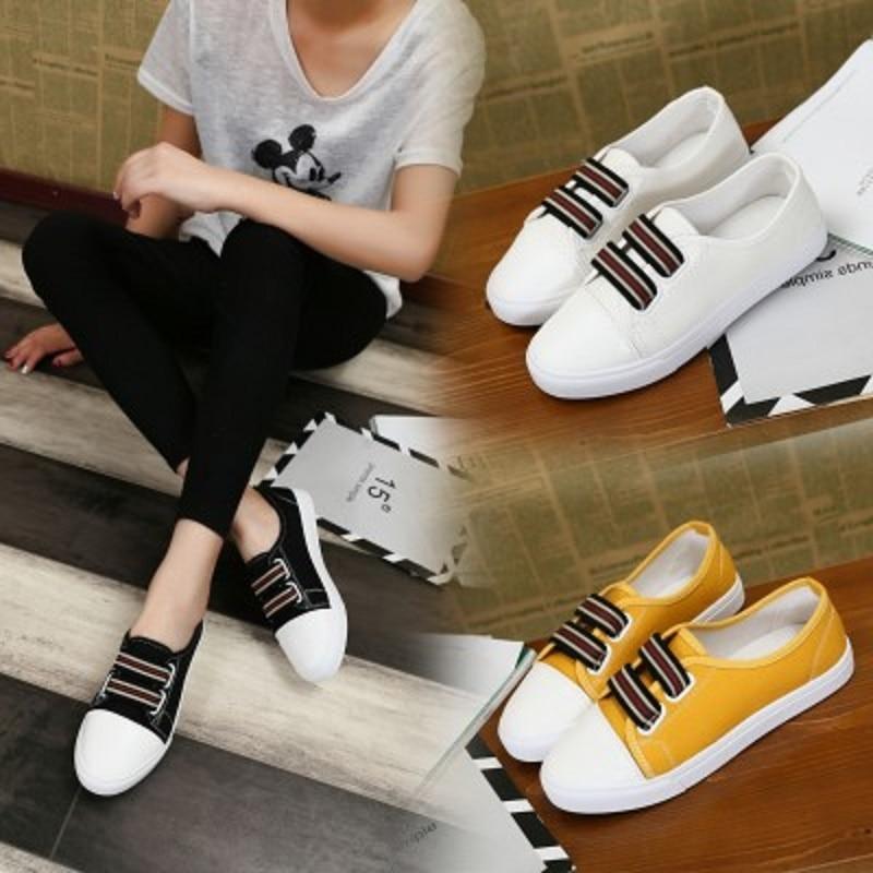 Toile Casual Confortables Chaussures Occasionnels Femmes Automne Étudiant De 3 2 1 Nouvelles w0R6qwY