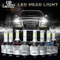 CO LIGHT H7 LED BULBS 72W SINGLE HIGH LOW BEAM 8000LUMENS 36W H4 H1 HEADLIGHT BULB