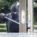 NEO Free shipping NAS-DS01Z Z-wave Door Window Sensor Compatible with Z wave 300 500 series Magnet Lock Door Sensor Alarm