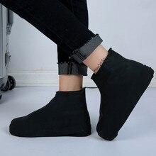 Непромокаемая обувь дождевик антискользящий многоразовый силикон стелька обувь ботинки чехол нескользящий для наружного кемпинга походная Рыбалка