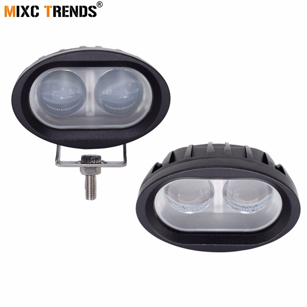 2pcs 4d Led Work Light Spot Light 20w 6500k Off Road Driving Running Lights For Car Truck Atv Motorcycle Drl Fog Lights 12v 24v Perfect In Workmanship