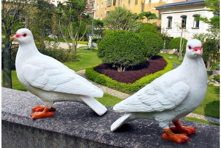 R sine blanc colombes statue maison jardin figurine mod le - Maison jardin a vendre aylmer colombes ...