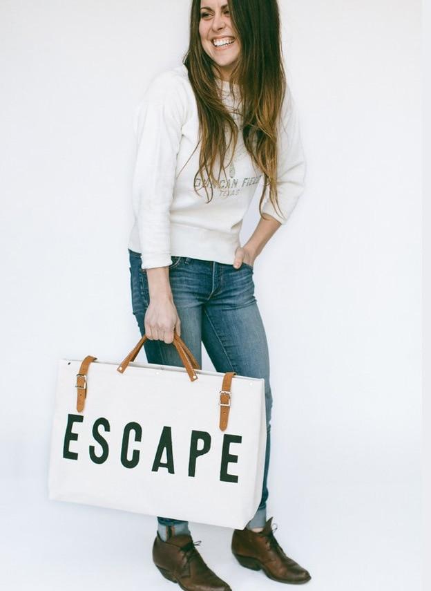 Ladies' Canvas Escape Bag