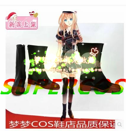 Free shipping! Touken Ranbu Online Midare Toushirou Cosplay Shoes Boots Professional Handmade!Perfect custom for you!