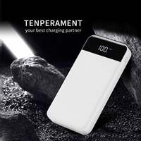 Power Bank 20000 MAh for Xiaomi Mi 2 Quick Fast Charge 3.0 PowerBank Portable Charger External Battery for IPhone