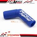Envío libre nuevo Shift Rubber Boot Sock y Protector zapato Shift cubierta Ryder Clips azul para cbr cb xr crf gsxr zx zzr r1 r6 600