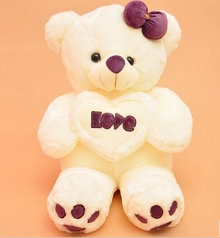 Free shipping 90cm  Teddy bear plush toy Love bear soft toy Gift for lover Christmas gift free shipping 90