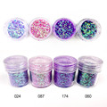 Holographic Glitter Powder for Nails Holographic Glitter Polish 10ml Shine Glitter Nail Powder Metallic Nail Art Dust SF0011