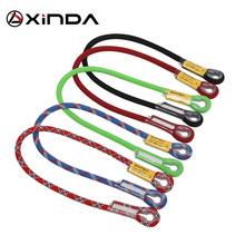 Xinda Professional wspinaczka skałkowa 10 5mm dynamiczna smycz ochronna opaska do noszenia na oko tanie tanio Wspinaczka Liny